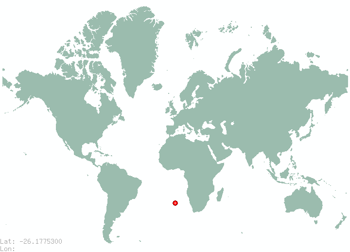 Formosa in world map